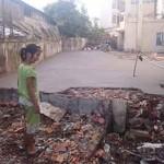 Cour orphelinat de Tam Vu